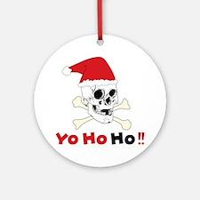 Yo Ho Ho Round Ornament