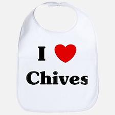 I love Chives Bib