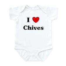 I love Chives Infant Bodysuit
