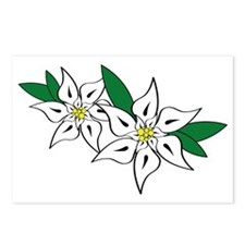 Edelweiss Postcards (Package of 8)