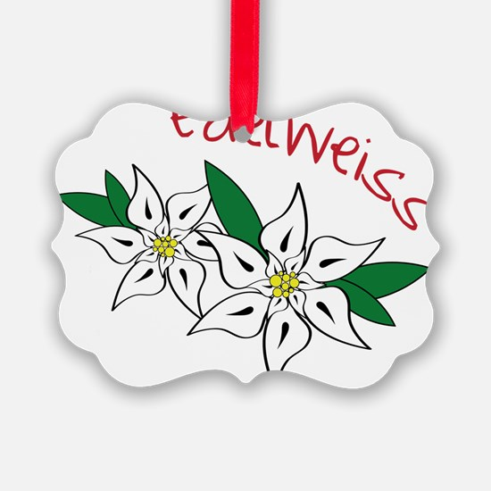 Edelweiss Ornament