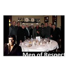 Men of Respect 2013 Calen Postcards (Package of 8)