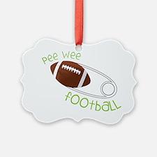 Pee Wee Football Ornament