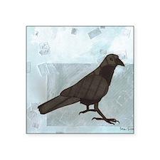 "Raven Square Sticker 3"" x 3"""