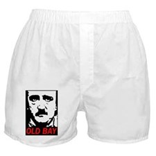 Edgar Allan Poe Baltimore Sticker Boxer Shorts