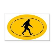 Bigfoot Rectangle Car Magnet