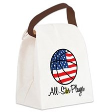 All Star Player Canvas Lunch Bag
