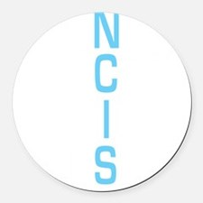 The Agents of NCIS Round Car Magnet