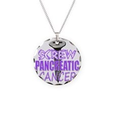 Screw Pancreatic Cancer Necklace