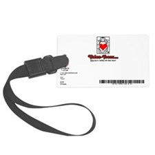 601A-PRICELESS-BACK Luggage Tag