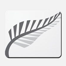 Silver Fern Kiwi New Zealand Mousepad