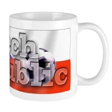 Soccer Flag Czech Republic Mug