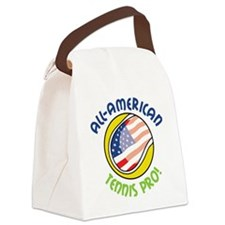 Tennis Pro Canvas Lunch Bag