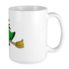Irish Good Luck Kitchen Witch Mug