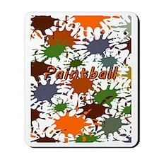 Fun Paintball Splatter Mousepad
