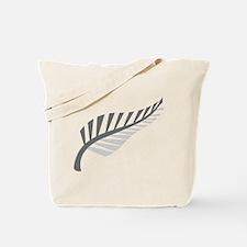 Silver Fern Kiwi New Zealand Tote Bag
