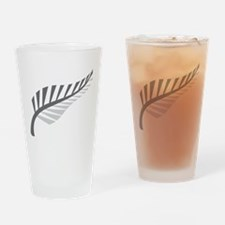Silver Fern Kiwi New Zealand Drinking Glass