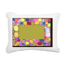 Easter Eggs Frame Nestin Rectangular Canvas Pillow