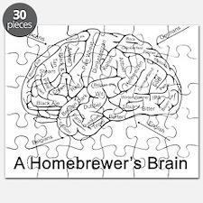 A Homebrewer's Brain (white) Puzzle