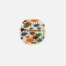 Fun Paintball Splatter Mini Button