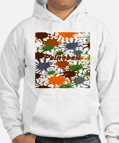 Fun Paintball Splatter Hoodie Sweatshirt