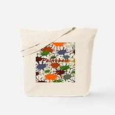 Fun Paintball Splatter Tote Bag