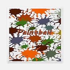 Fun Paintball Splatter Queen Duvet