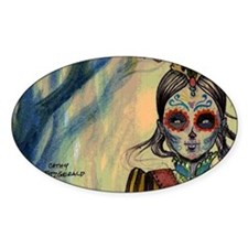 Drummer Girl coin case Decal