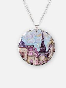 Paris Inspired Landscape Poi Necklace