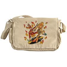 Rockin Wolf Messenger Bag