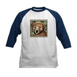 Soft Coated Wheaten Terrier Kids Baseball Jersey