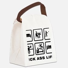 Disk-Golf-ABA1 Canvas Lunch Bag