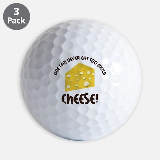 Cheese Golf Ball