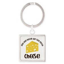 Cheese Square Keychain