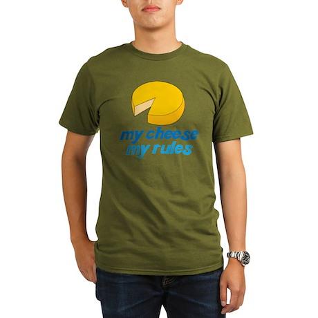 My Rules Organic Men's T-Shirt (dark)