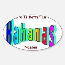 Better In the Bahamas Decal