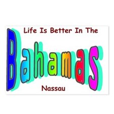 Better In the Bahamas Postcards (Package of 8)