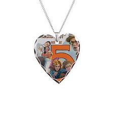 harold lloyd Necklace Heart Charm