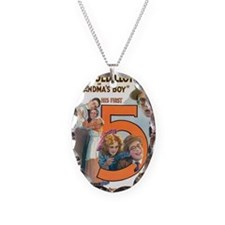 harold lloyd Necklace Oval Charm