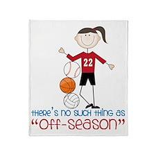 Off Season Throw Blanket