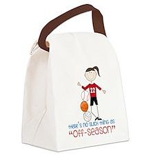 Off Season Canvas Lunch Bag