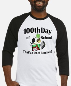 100th Day Lunches Baseball Jersey