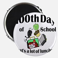 100th Day Lunches Magnet