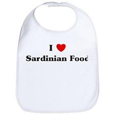 I love Sardinian Food Bib