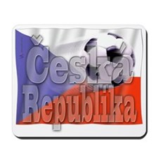 Soccer Flag Ceska Republika Mousepad