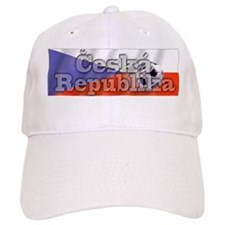 Soccer Flag Ceska Republika Baseball Cap