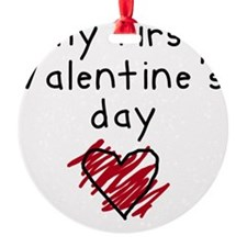 my first valentines day Ornament