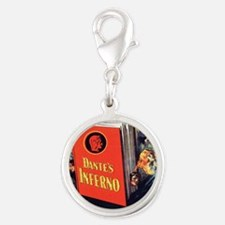 dantes inferno Silver Round Charm