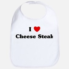 I love Cheese Steak Bib