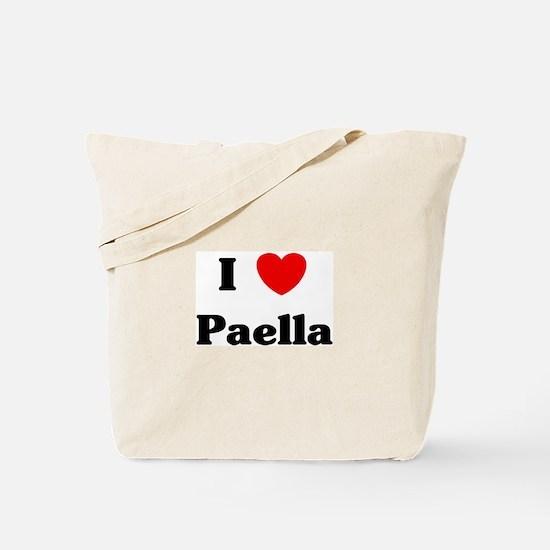 I love Paella Tote Bag
